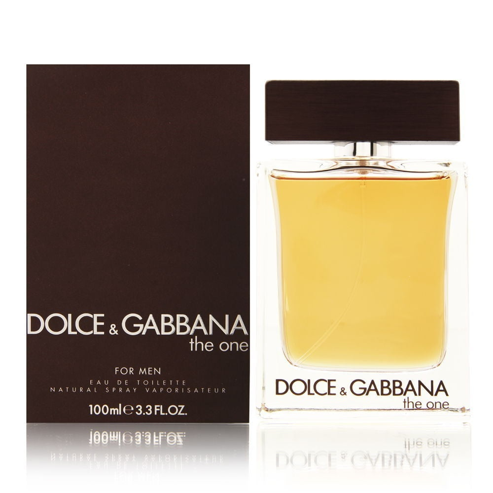 The One by Dolce Gabbana For Men 3.3 Oz EDT Spray