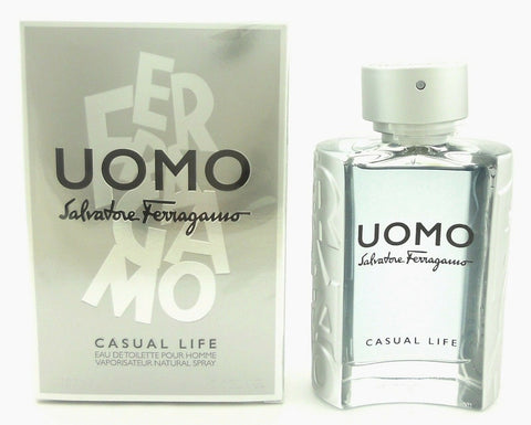 Ferragamo Uomo Casual Life Cologne by Salvatore Ferragamo 3.4 oz.EDT Spray