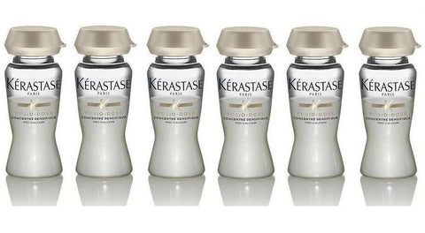 KERASTASE FUSIO DOSE 6 X CONCENTRE DENSIFIQUE 12 ml SHIP FAST! NEW !!