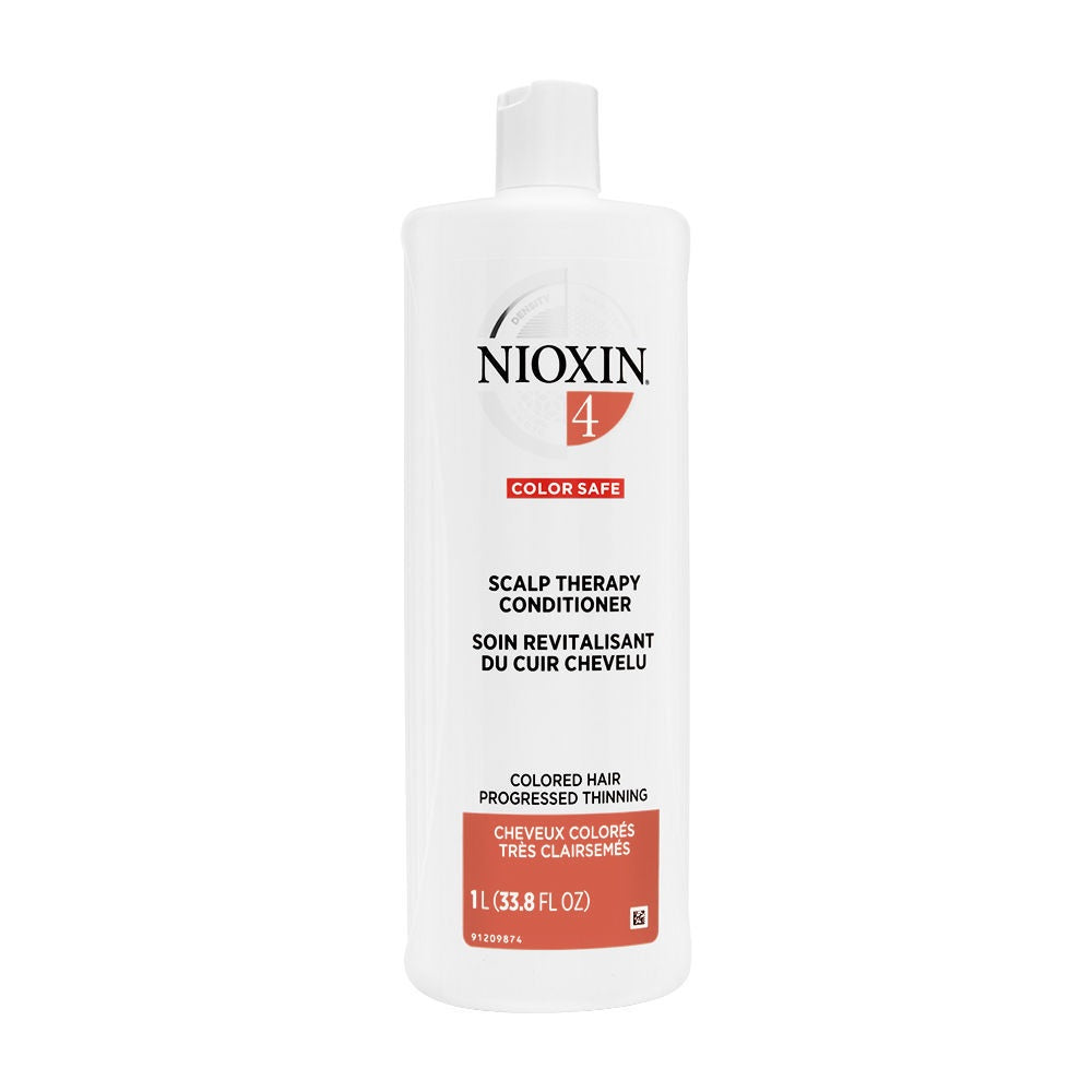 Nioxin Scalp Therapy For Fine Hair System 4, Fine, Chemically Enhanced Hair 1 Liter