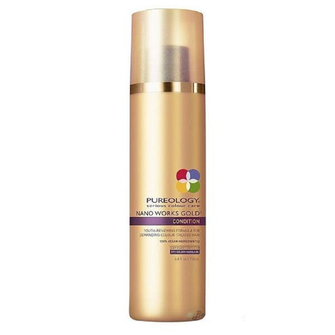 Pureology Nano Works Gold Condition Conditioner Revitalisant 6.8 oz / 200 ml
