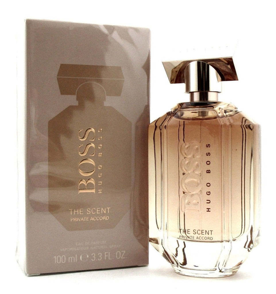The Scent Private Accord Perfume by Hugo Boss 3.3 oz EDP Spray for Women