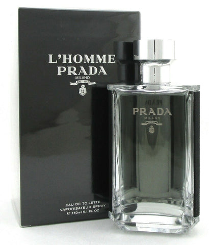 Prada L'HOMME Cologne by Prada 5.1 oz. / 150 ml. EDT Spray for Men