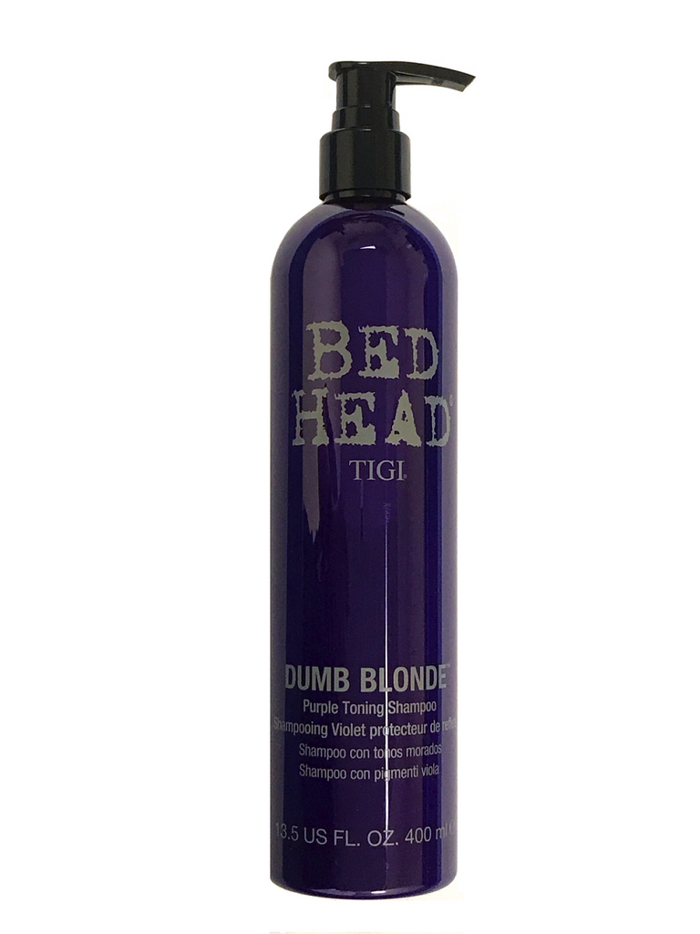 Tigi Bed Head Dumb Blonde Purple Toning Shampoo 13.5 Oz