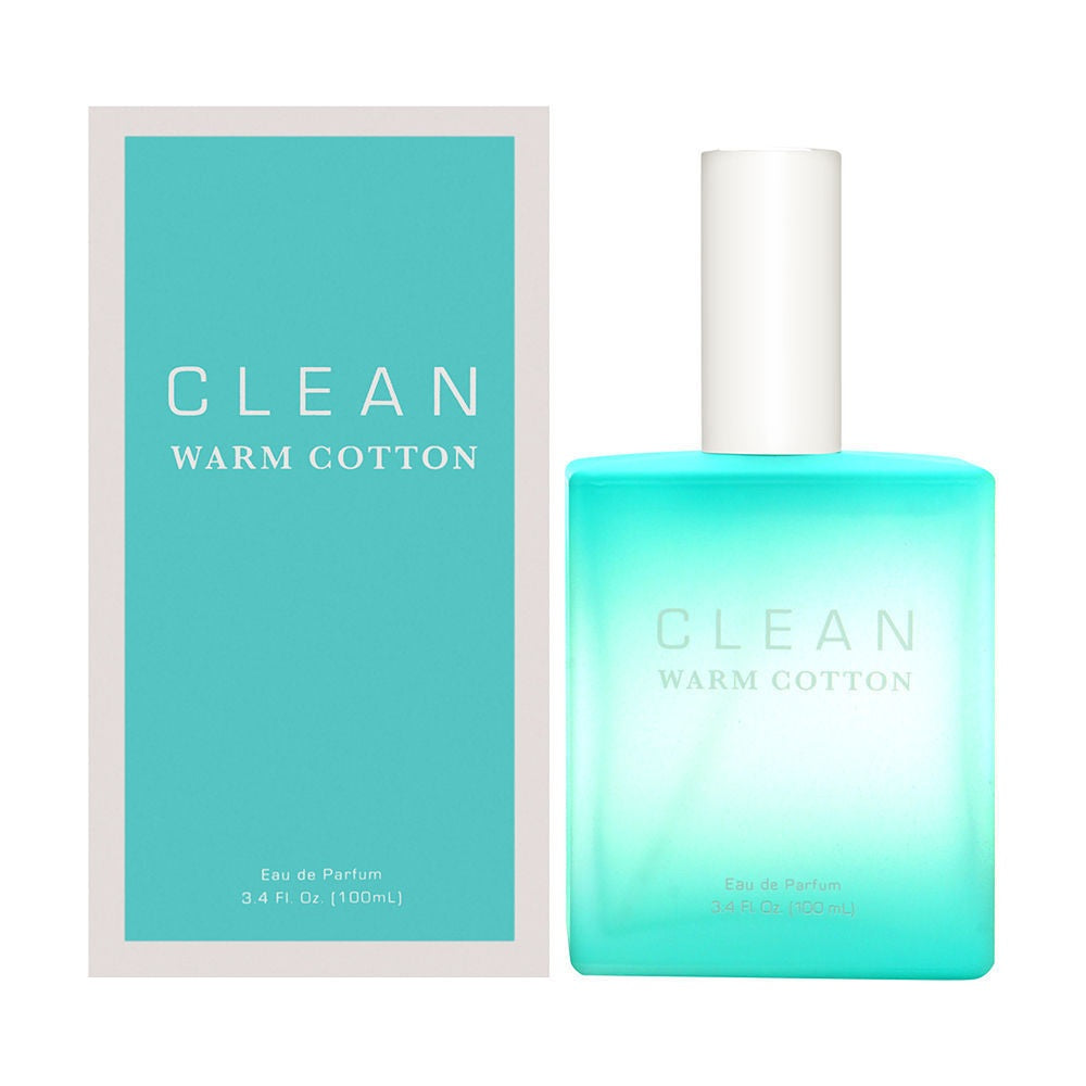 Clean Warm Cotton by Clean For Women 3.4 oz EDP Spray Brand New