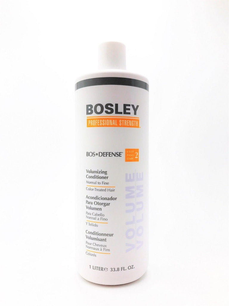 BOSLEY BOS-DEFENSE Volumizing Conditioner 1 Liter Color-Treated