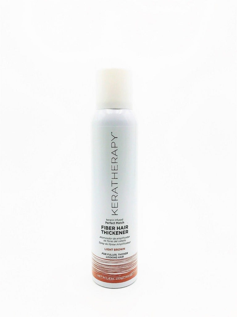 Keratherapy Fiber Hair Thickener  4 Oz  Light Brown