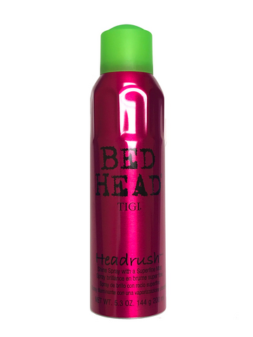Tigi Bed Head Headrush 5.3 Oz Shine Spray With Superfine Mist
