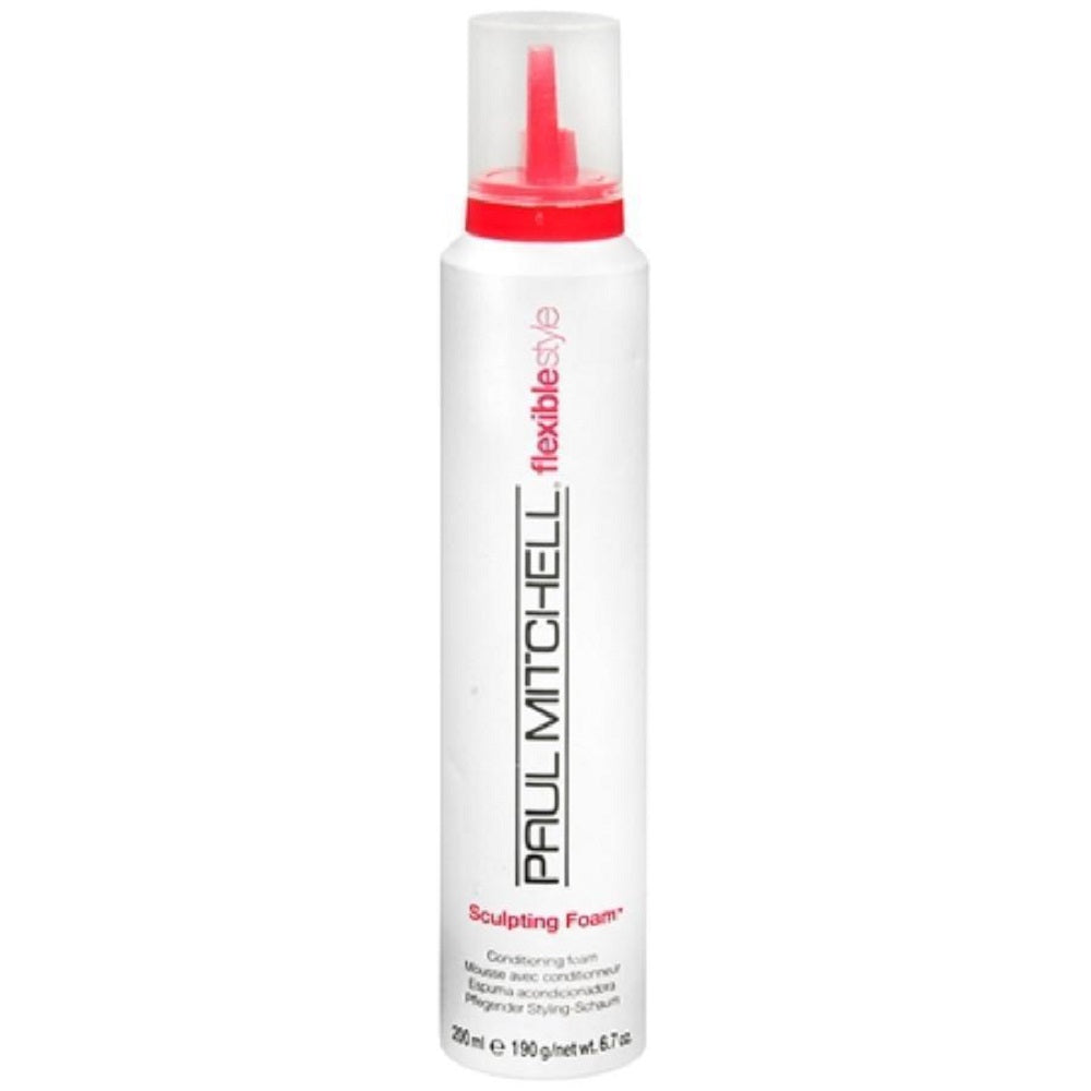 Paul Mitchell Flexible Sculpting Foam Conditioning Foam 6.7 Oz   Dented