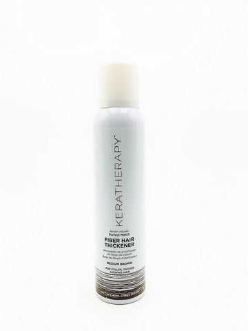Keratherapy Fiber Hair Thickener Medium Brown 4 Oz