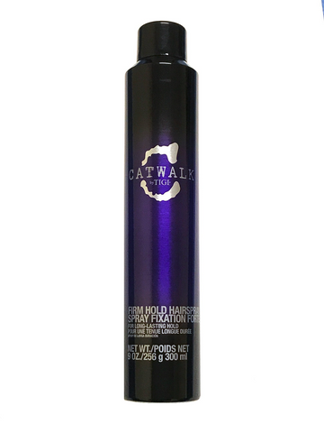 Tigi Catwalk Firm Hold Hairspray 9 Oz For Long-Lasting Hold