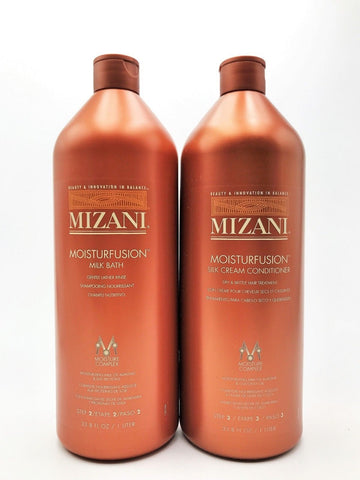 Mizani Moisturfusion Shampoo And Conditioner 33.8 Oz DUO