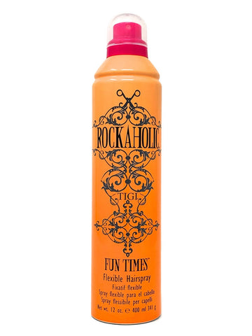 TIGI Rockaholic Fun Times Flexible Hairspray 12 Oz