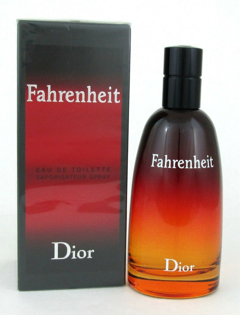 Fahrenheit Cologne by Christian Dior 3.4 oz EDT Spray for Men