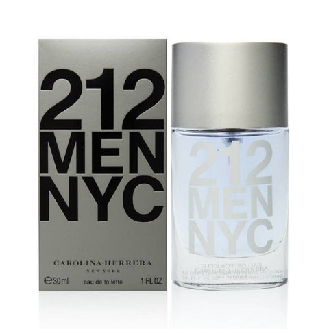 212 NYC Men by Carolina Herrera for Men 1.0 Oz EDT Spray