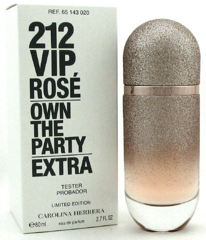 212 VIP ROSE EXTRA by Carolina Herrera Perfume 2.7oz. EDP Spray Women