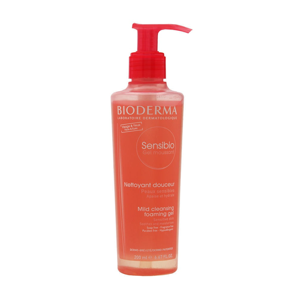 Bioderma Sensibio Foaming Gel 6.7 oz Brand New