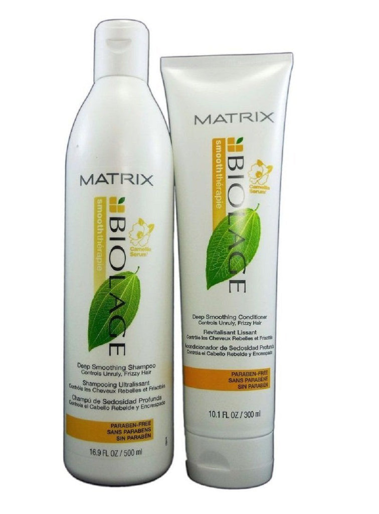Matrix Biolage Deep Smoothing Shampoo And Conditioner 16.9 / 10.1 oz