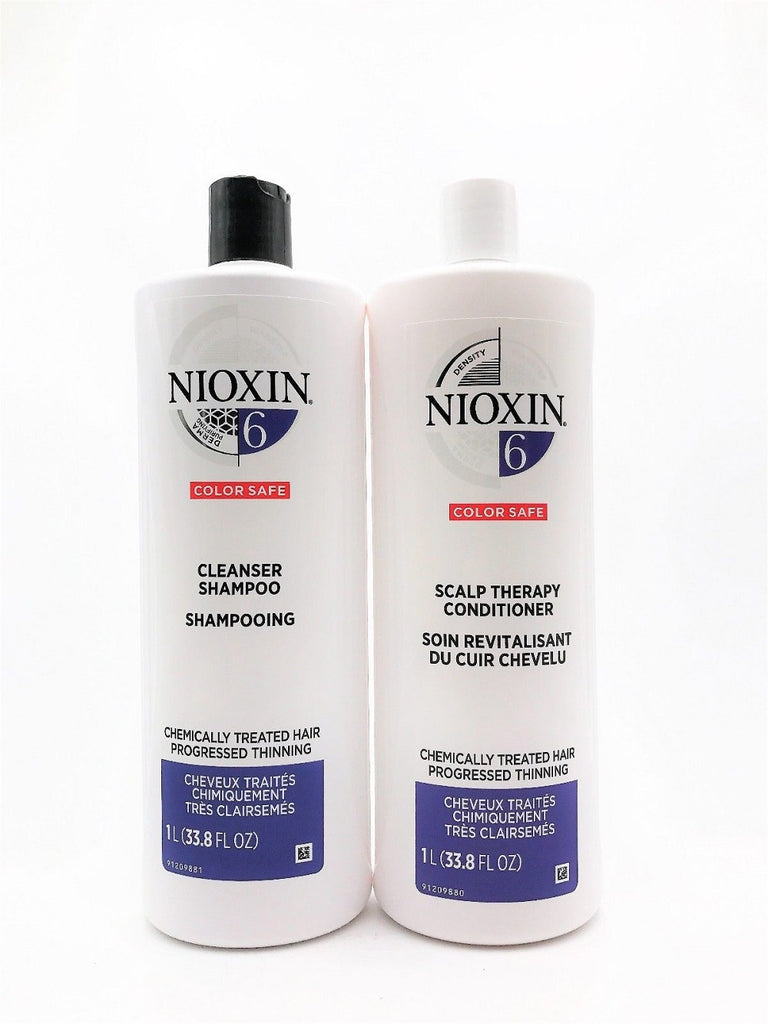 NIOXIN System 6 Liter DUO Set New Packaging