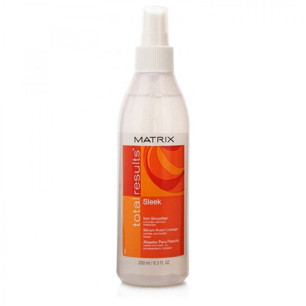 Matrix Total Results Sleek Iron Smoother 8.5 oz PCK OF 3
