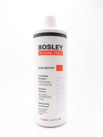 BOSLEY BOS-REVIVE Nourishing Shampoo 1 LITER Color-Treated