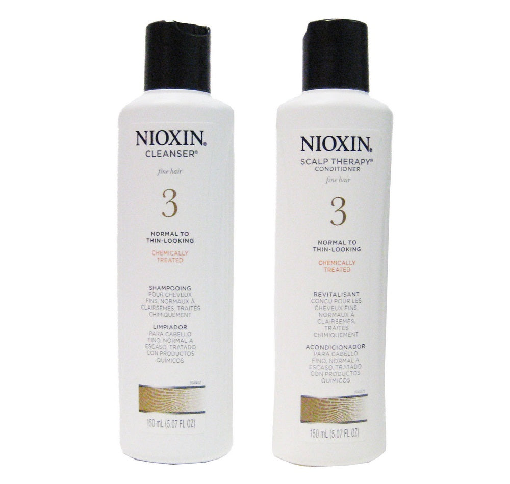 Nioxin System 3 Cleanser And Scalp Therapy Duo 5.1 Oz  Each