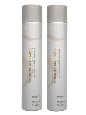 Sebastian Shaper Brushable Hairspray 10.6 Oz Pack Of 2