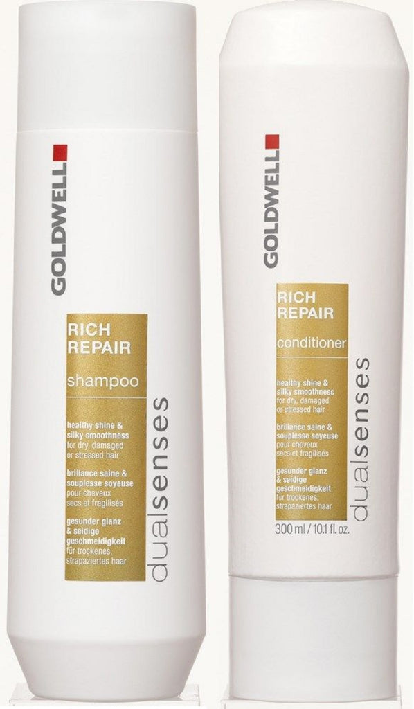 Goldwell Dualsenses Rich Repair Shampoo And Conditioner 10.1 Oz Duo