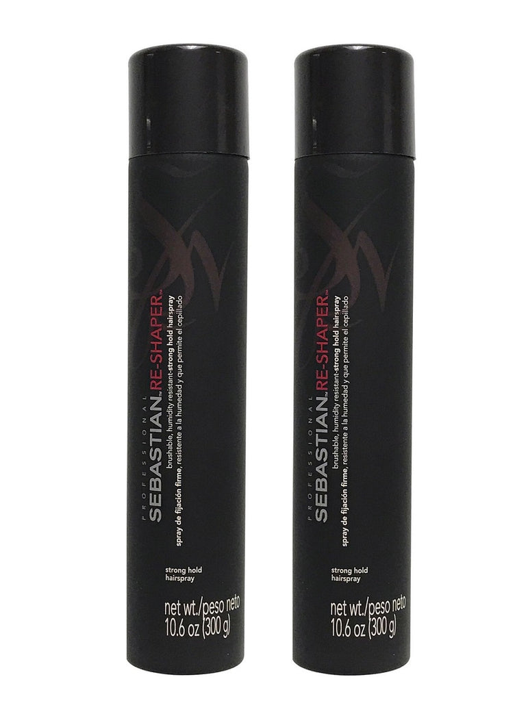 Sebastian Re-Shaper Brushable Strong Hold Hairspray 10.6 Oz Pack Of 2