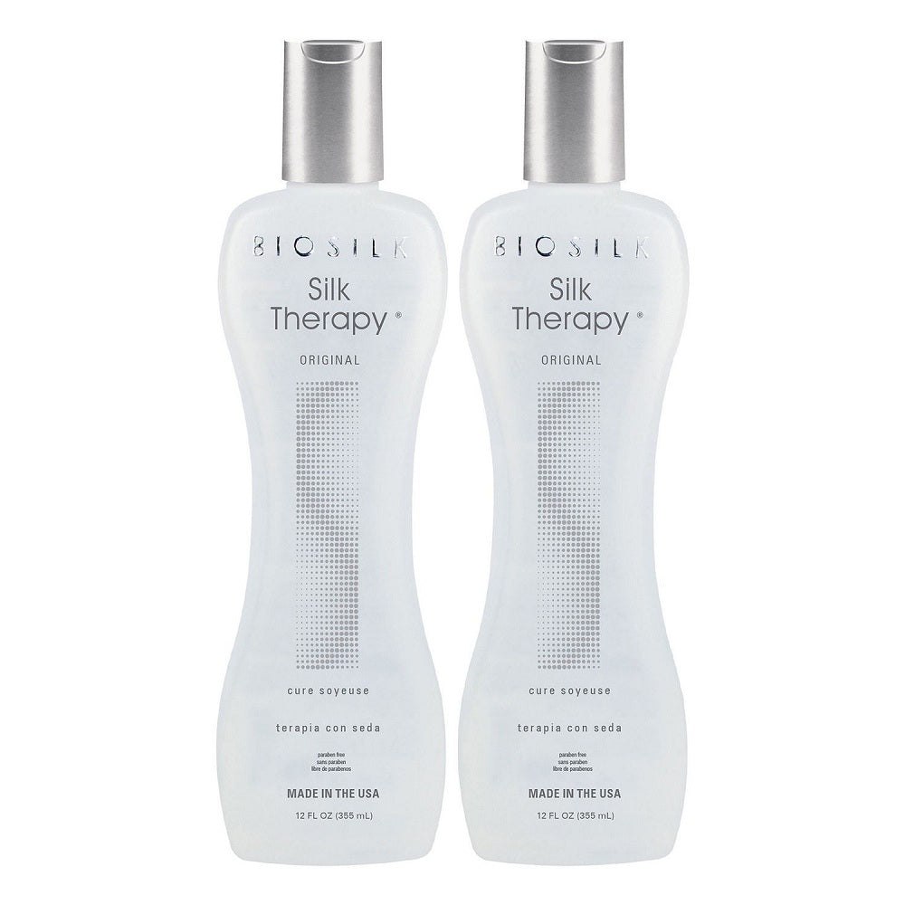Biosilk Silk Therapy Original Cure 12 Oz  Pack Of 2
