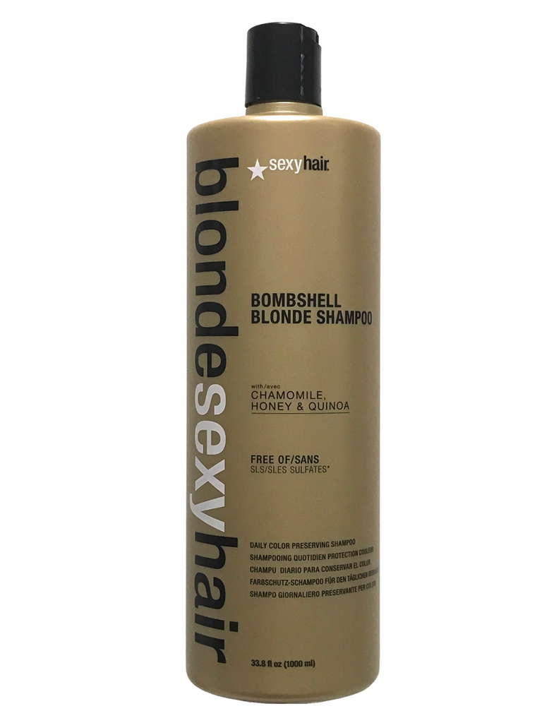 Blonde Sexy Hair Bombshell Blonde Daily Color Preserving Shampoo 33.8 Oz
