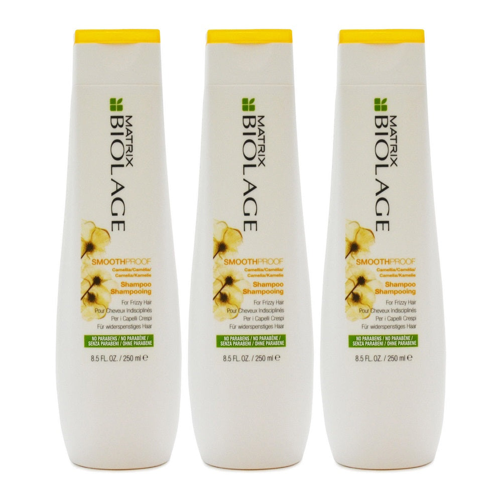 Matrix Biolage SmoothProof Shampoo For Frizzy Hair 13.5 oz PACK OF 3