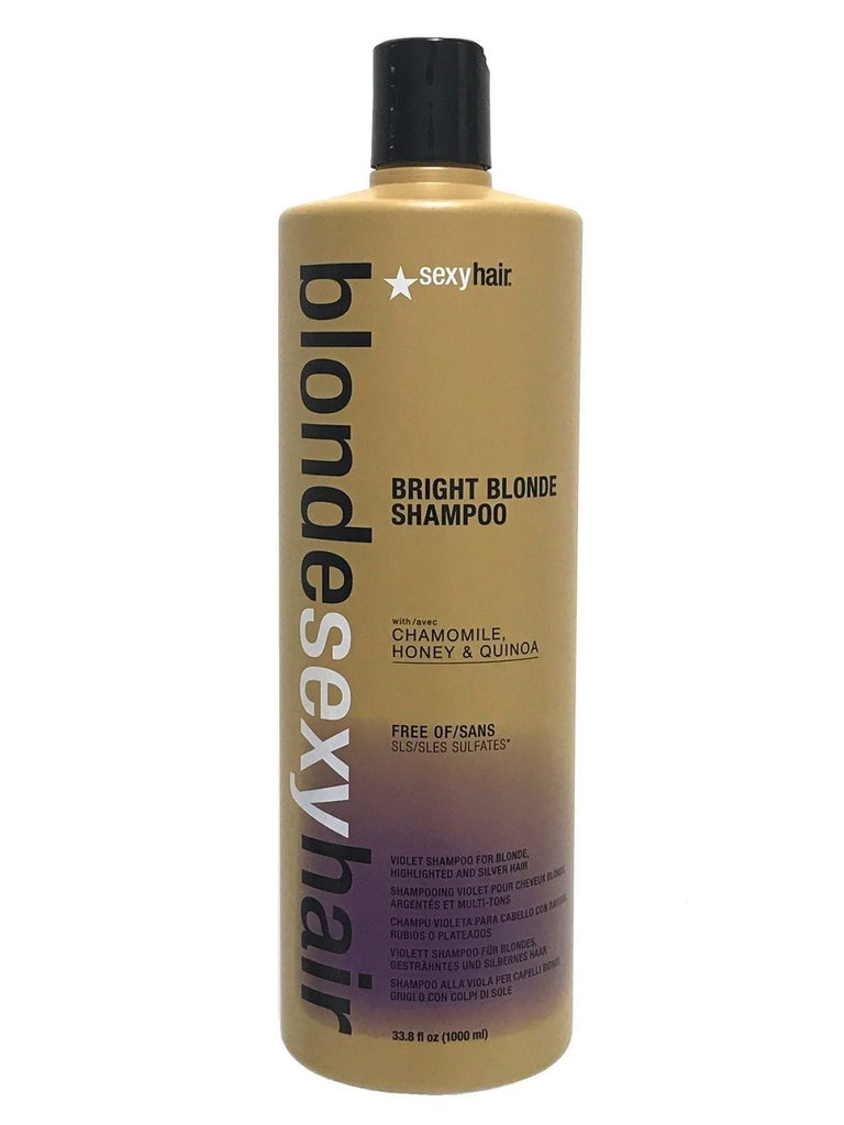 Blonde Sexy Hair Bright Blonde Shampoo 33.8 Oz