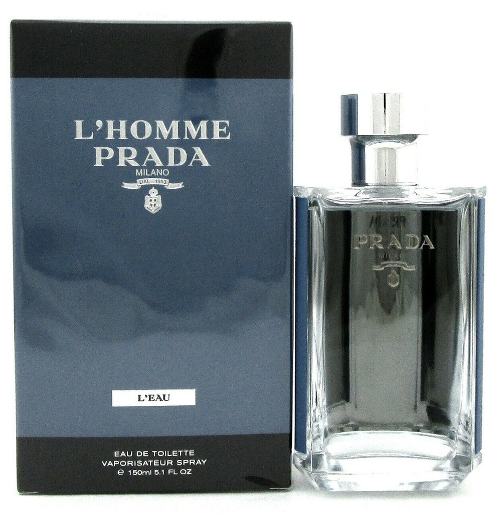 L'Homme Prada Milano L'EAU by Prada 5.1 oz. EDT Spray for Men