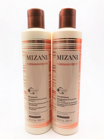 Mizani Thermasmooth Shampoo And  Conditioner DUO Set  8.5 Oz