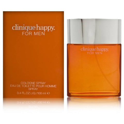 Happy by Clinique For Men 3.4 Oz Cologne Spray Brand New