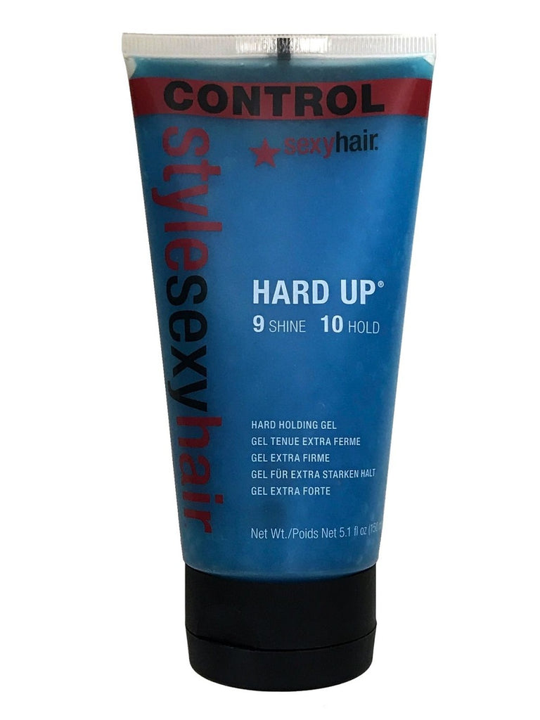 Style Sexy Hair Hard Up Holding Gel 5.1 oz (9 Shine + 10 Hold)