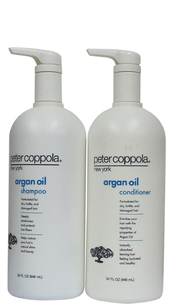 Peter Coppola Argan Oil Shampoo And Conditioner 32 Oz Duo