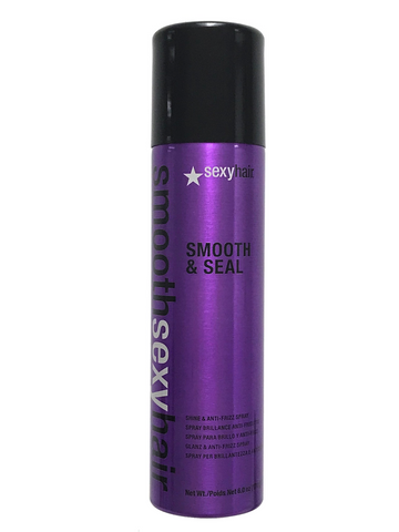 Smooth Sexy Hair Smooth & Seal Anti-Frizz And Shine Spray 6 Oz