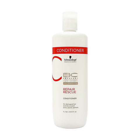 Schwarzkopf BC Bonacure Repair Rescue Conditioner - 33.8 Oz / 1 Liter