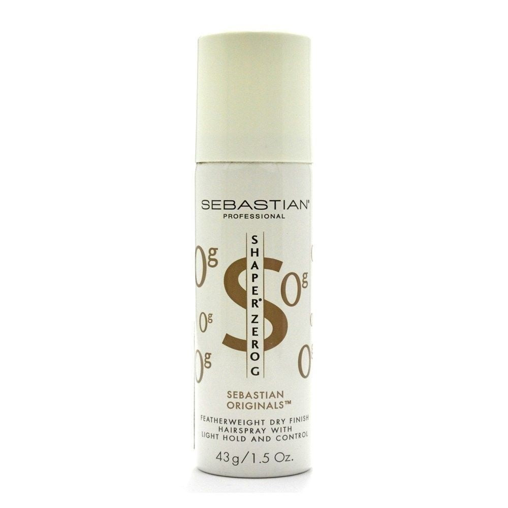 Sebastian Shaper Originals Zero G Hairspray 1.5 Oz   4 PACK Dented