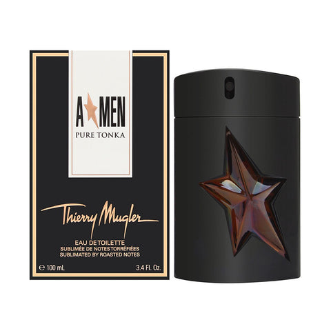 Angel Men Pure Tonka by Thierry Mugler For Men 3.4 oz EDT Spray Limited Edition