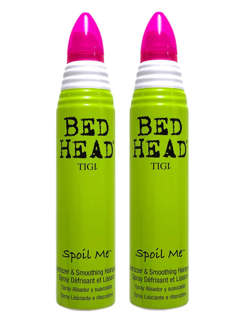 Tigi Bed Head Spoil Me Defrizzer And Smoothing Hairspray 9 oz Pack Of 2