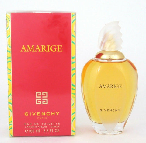 Amarige Perfume by Givenchy Eau De Toilette Spray for Women 3.3 oz / 100 ml
