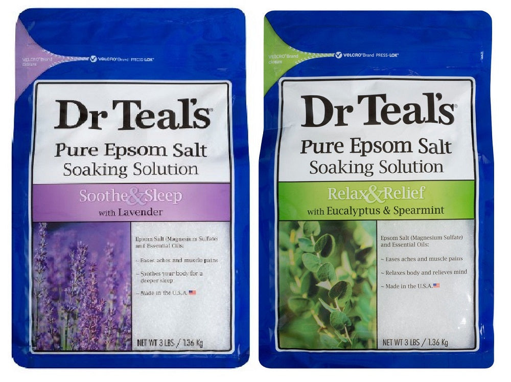 Dr Teal'S Pure Epsom Salt Soaking Solution / Soothe & Sleep Plus Relax & Relief