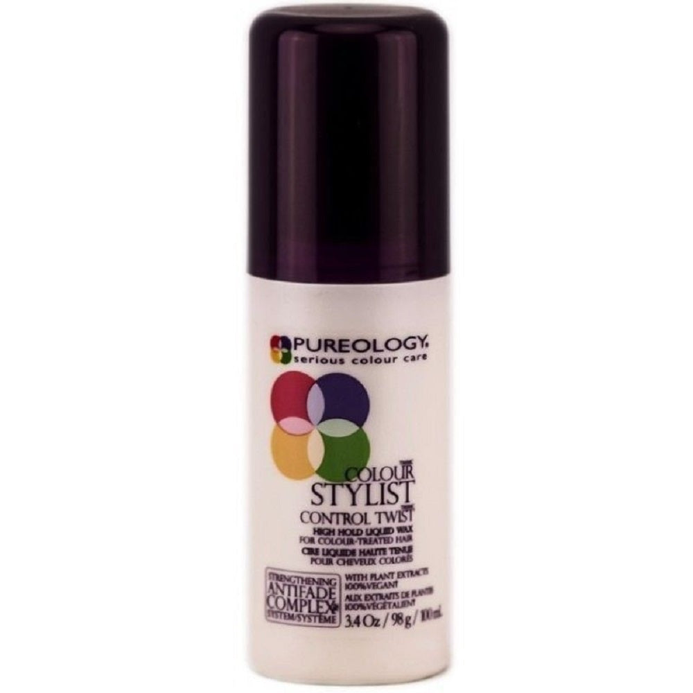 Pureology Color Stylist Control Twist High Hold Liquid Wax 3.4 Oz