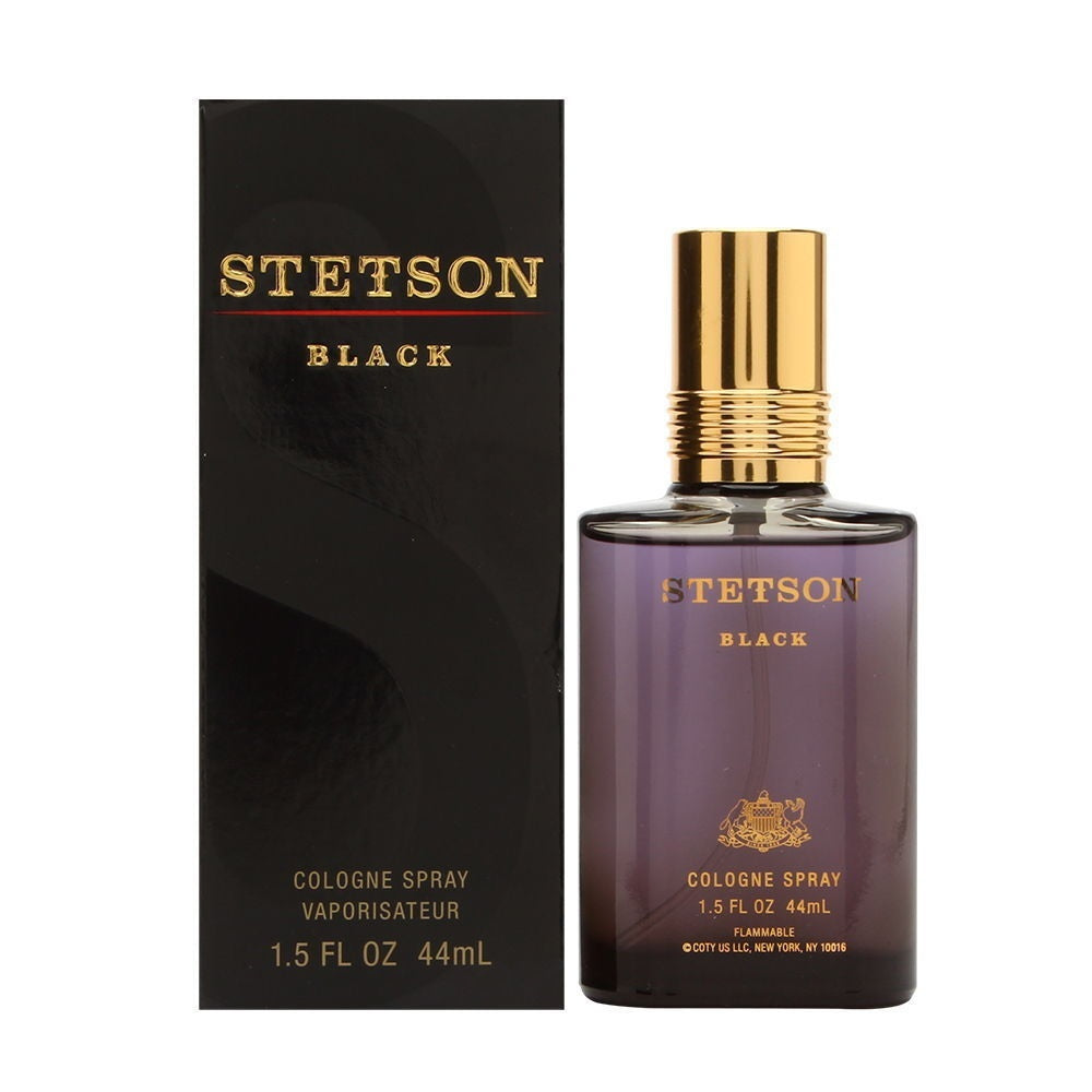 Stetson Black by Stetson For Men 1.5 Oz Cologne Spray Brand New