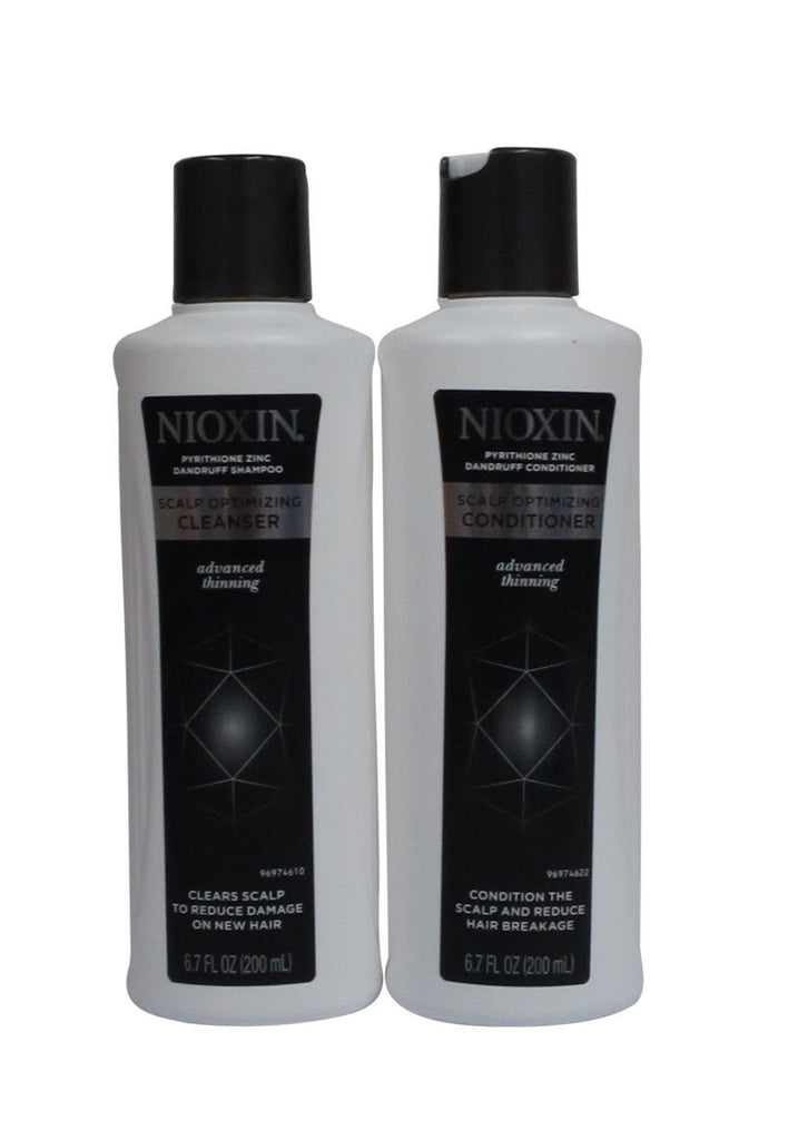 Nioxin Dandruff Scalp Optimizing Cleanser And Conditioner 6.7  OZ  DUO