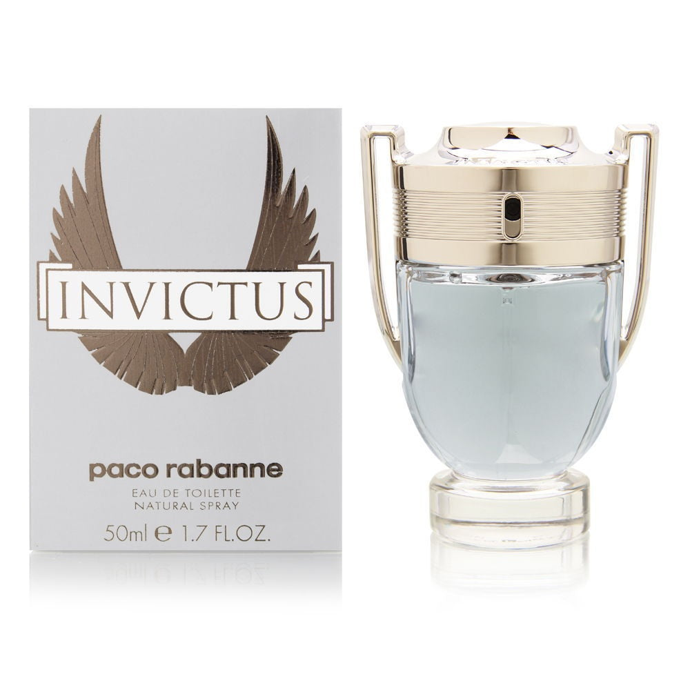 Invictus by Paco Rabanne For Men 1.7 oz EDT Spray Brand New