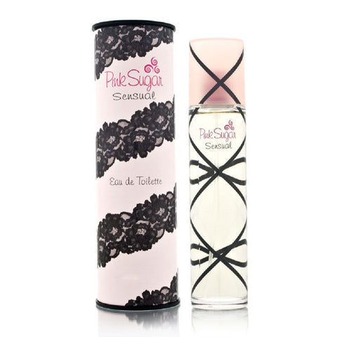 Pink Sugar Sensual by Aquolina For Women 3.4 Oz EDT Spray